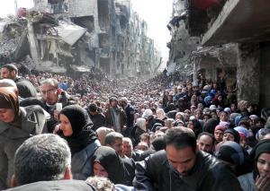 Foto de NBC News - Siria tres años de guerra