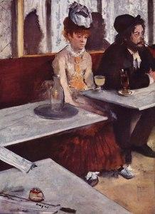 L' absinthe (1876), Edgar Degas