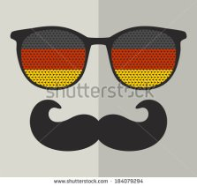 stock-vector-retro-glasses-with-reflection-for-hipster-vector-illustration