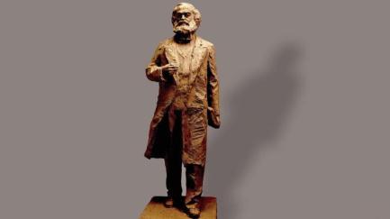 Statue von Karl Marx