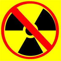Anti nuclear logo