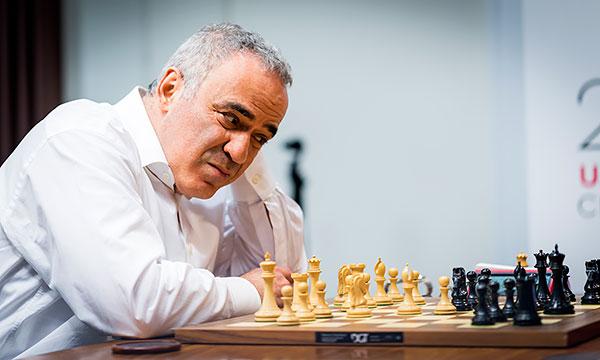 Garry Kasparov. Foto de Chessbase.com
